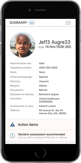 Standard Health Record Design